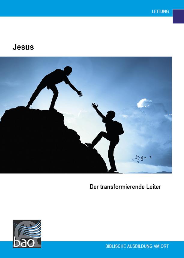 Jesus, der transformierende Leiter Image