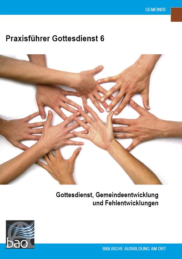 Praxisführer Gottesdienst: Gemeindeentwicklung und Fehlentwicklungen Image