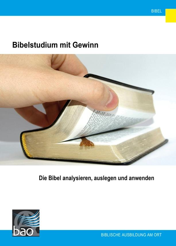 Bibelstudium mit Gewinn Image