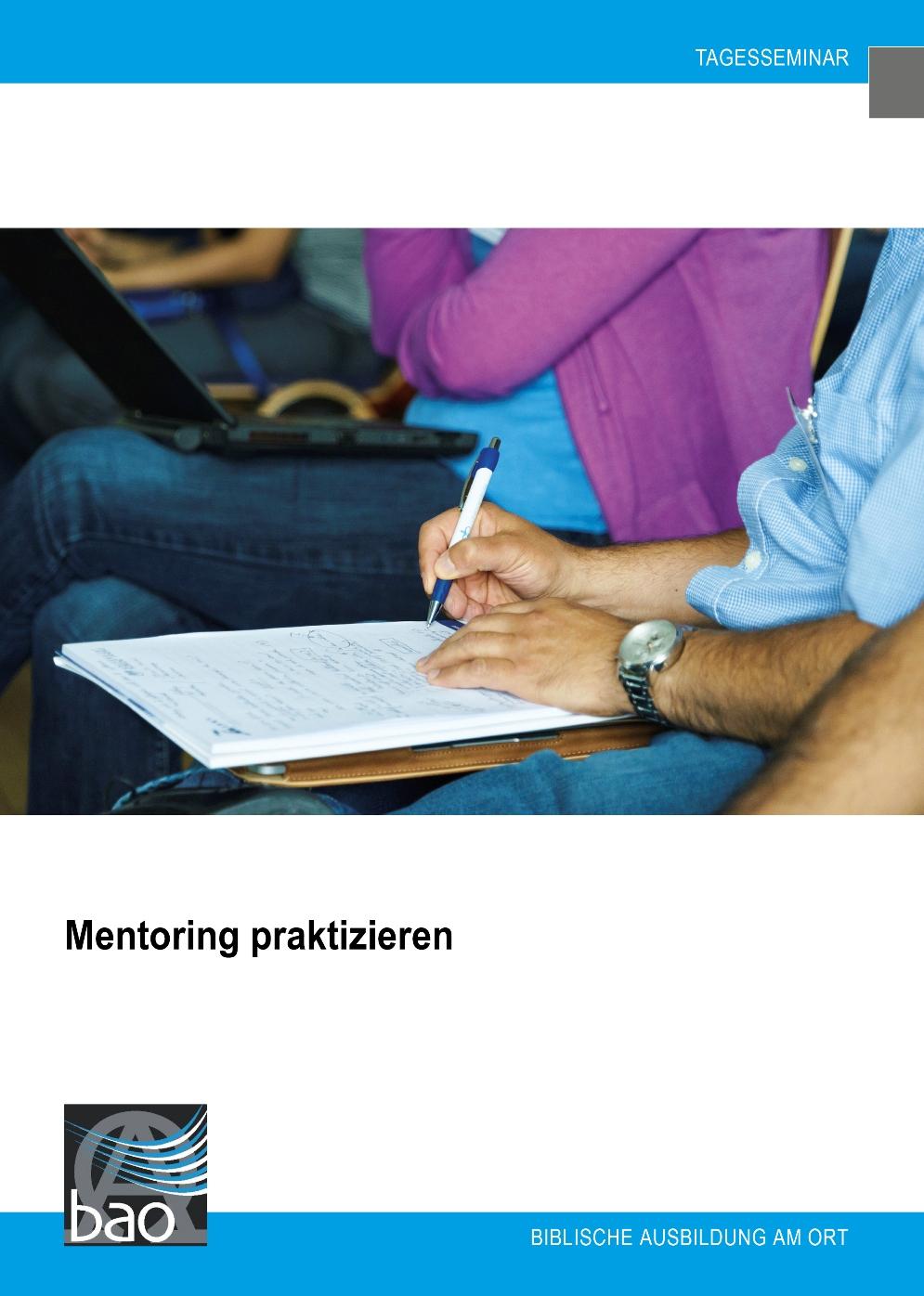 Mentoring praktizieren Image