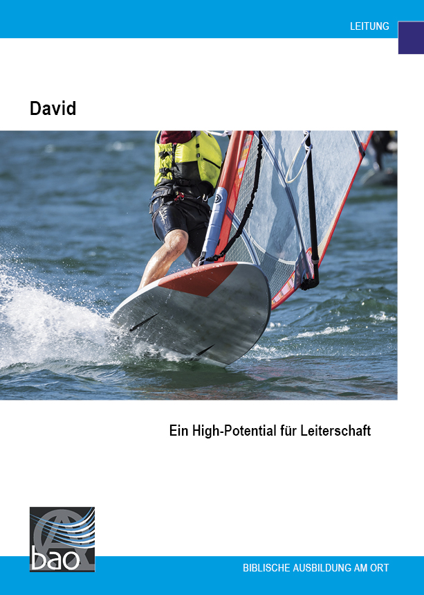"David, ein ""High Potential"" für Leiterschaft Image"