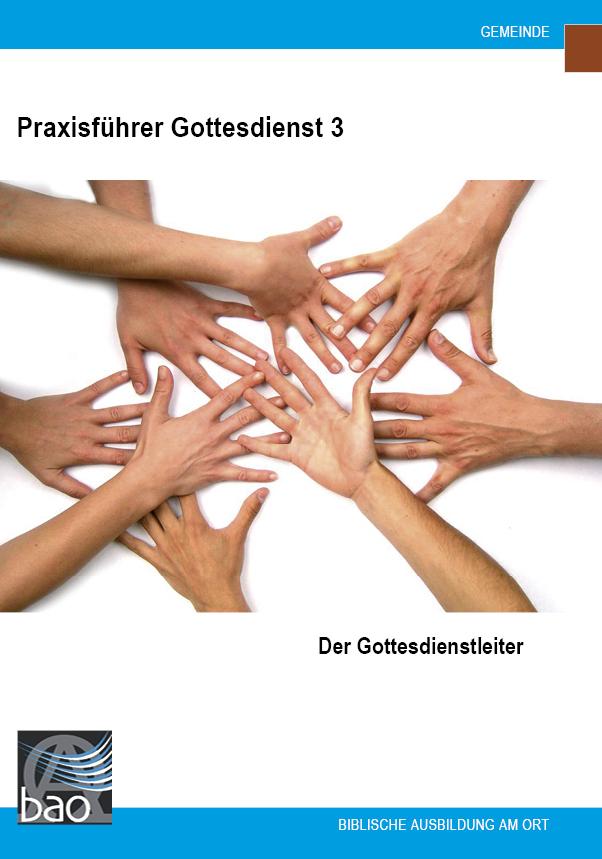 Praxisführer Gottesdienst: Der Gottesdienstleiter Image