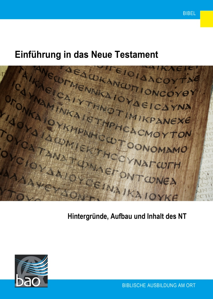Einführung in das Neue Testament Image