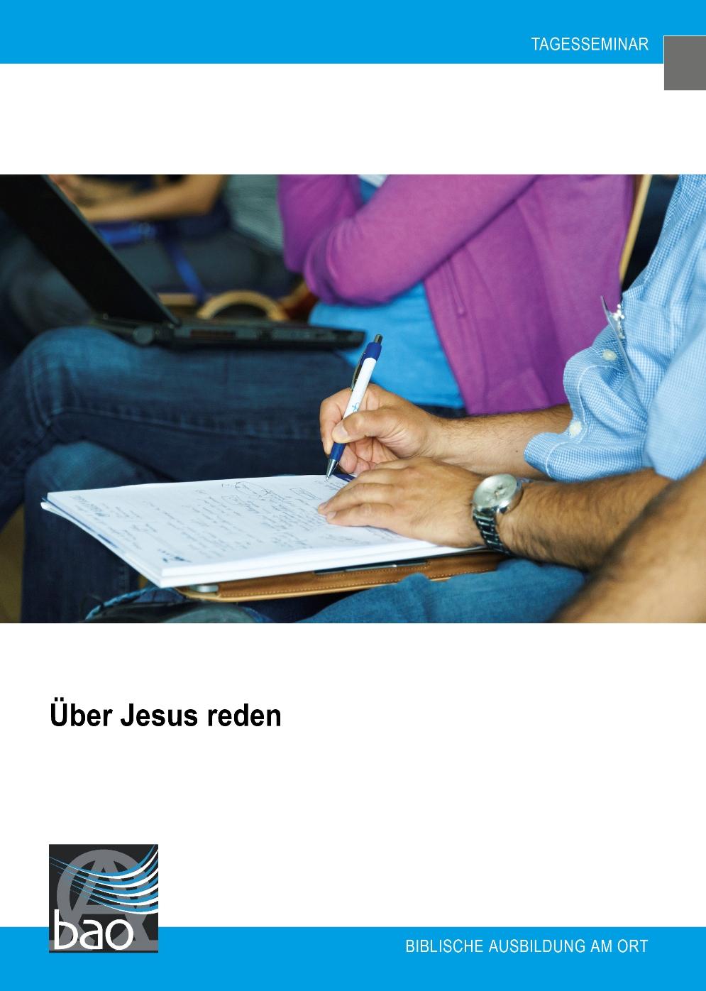 Über Jesus reden Image